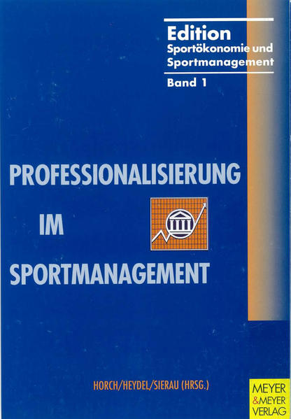 Professionalisierung im Sportmanagement - Coverbild