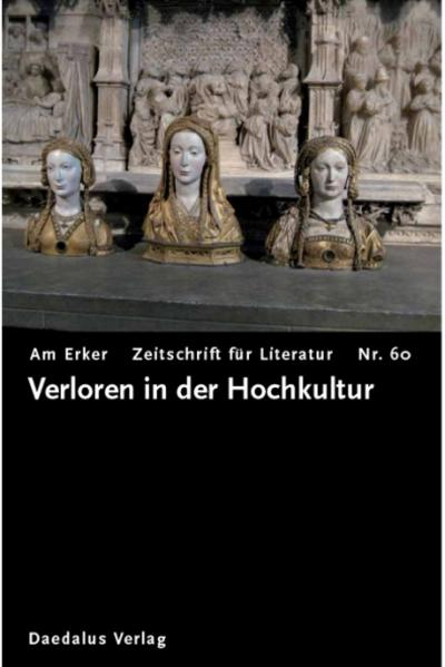 Am Erker - Heft 60: Verloren in der Hochkultur - Coverbild