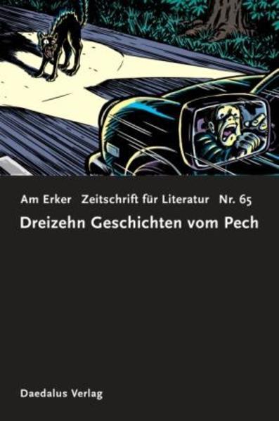 Zeitschrift AM ERKER. Heft 65: 13 Geschichten vom Pech - Coverbild