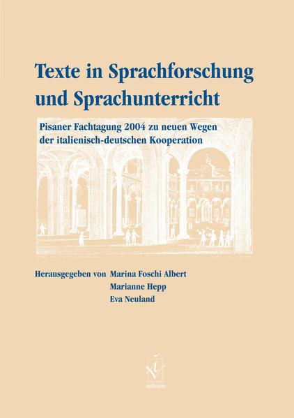 Texte in Sprachforschung und Sprachunterricht - Coverbild