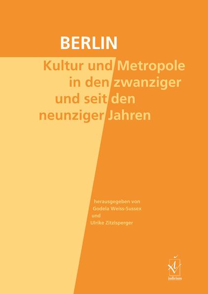 Berlin. Kultur und Metropole in den zwanziger und seit den neunziger Jahren - Coverbild