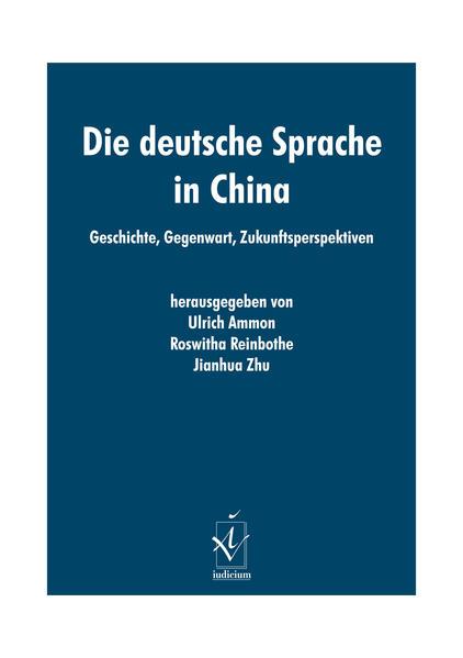 Die deutsche Sprache in China - Coverbild