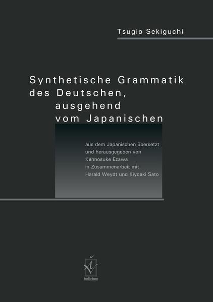 Synthetische Grammatik des Deutschen, ausgehend vom Japanischen - Coverbild