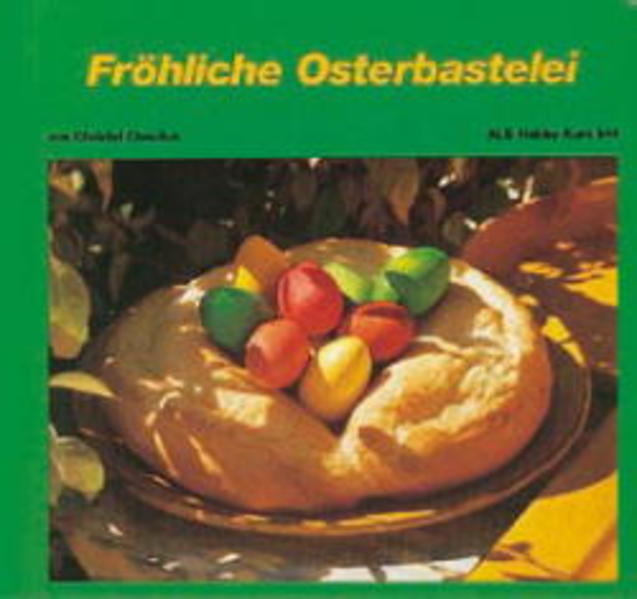 Fröhliche Osterbastelei - Coverbild