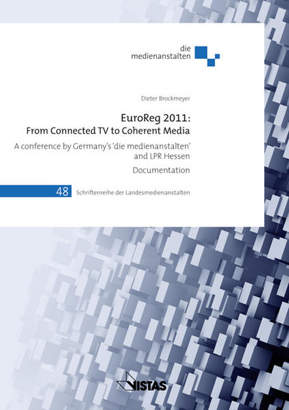 EuroReg 2011: From connected TV to Coherent Media - Coverbild