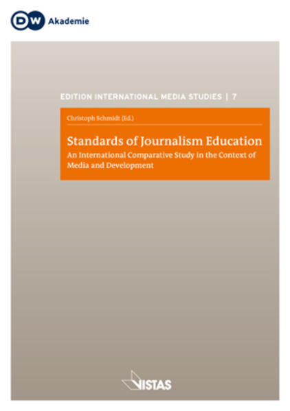 Standards of Journalism Education - Coverbild