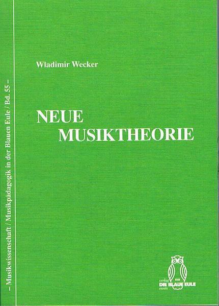 Neue Musiktheorie - Coverbild