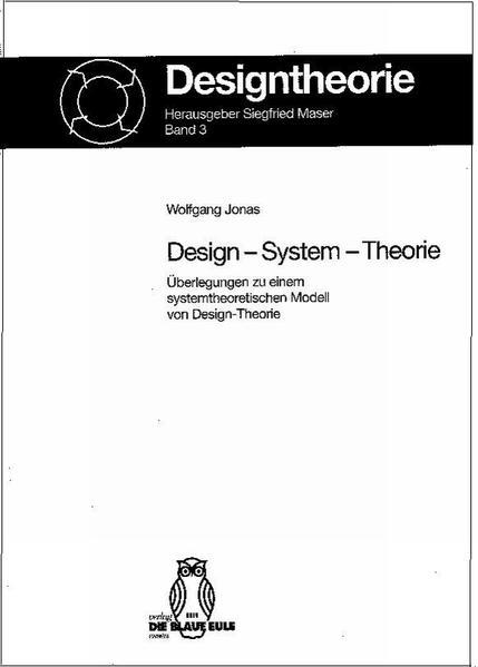 Design - System - Theorie - Coverbild