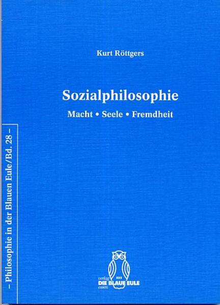 Sozialphilosophie - Coverbild