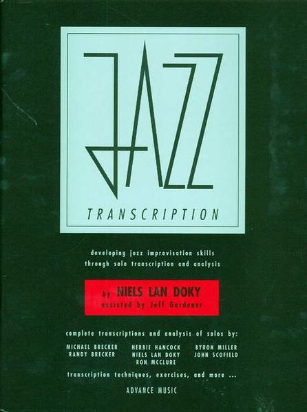 Jazz Transcription - Coverbild