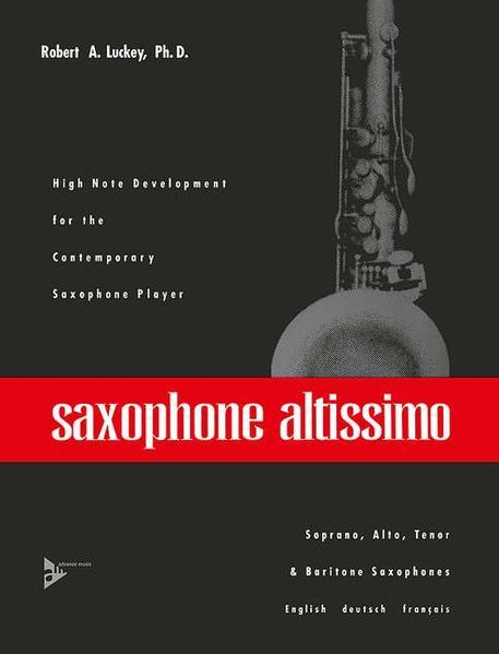 Saxophone altissimo - Coverbild