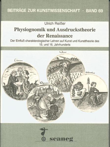 Physiognomik und Ausdruckstheorie der Renaissance - Coverbild