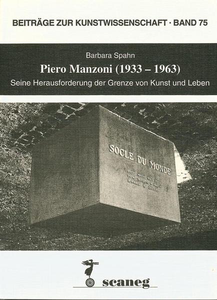 Piero Manzoni (1933-1963) - Coverbild