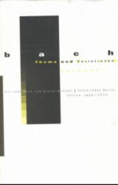 Bach - Thema und Variationen - Coverbild
