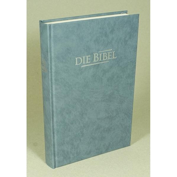 Die Bibel - Standardausgabe (Baladek, grau-blau) - Coverbild