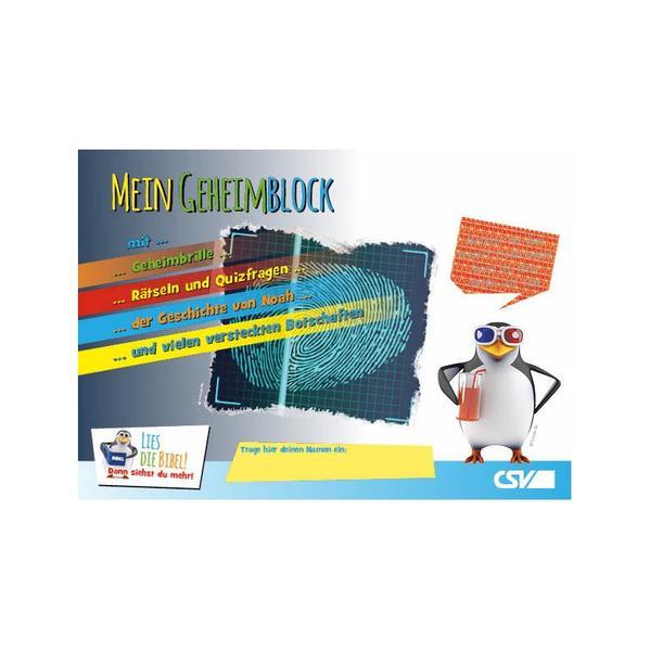 Mein Geheimblock - Coverbild