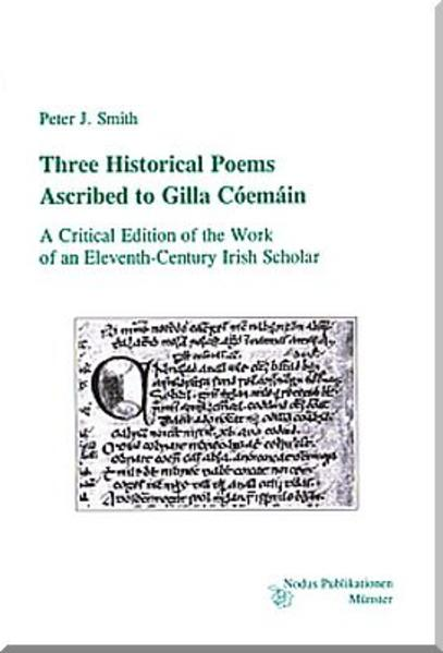 Three Poems Ascribed to Gilla Cóemáin - Coverbild