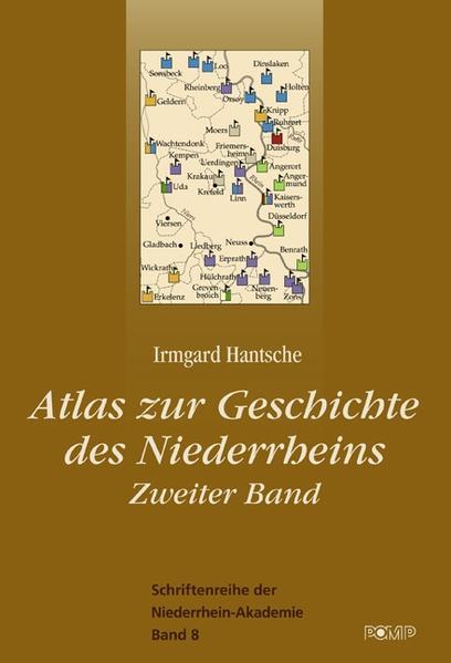 Niederrhein-Atlas Teil 2 - Coverbild