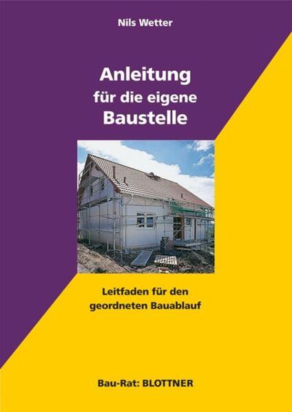 Anleitung für die eigene Baustelle - Coverbild