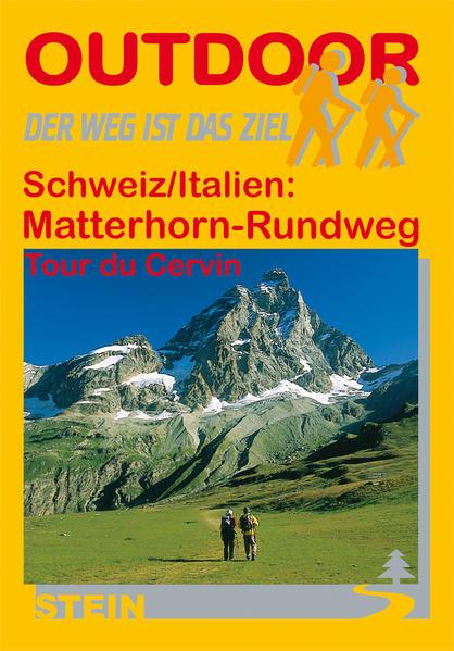 Schweiz/Italien: Matterhorn-Rundweg Tour de Cervin - Coverbild