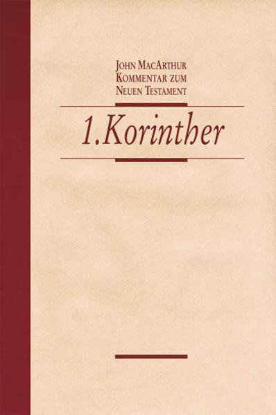 1. Korinther - Coverbild