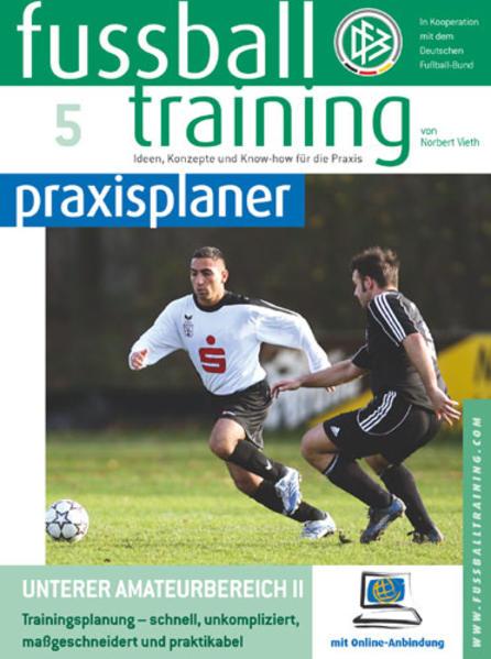 Fussballtraining-praxisplaner - Coverbild