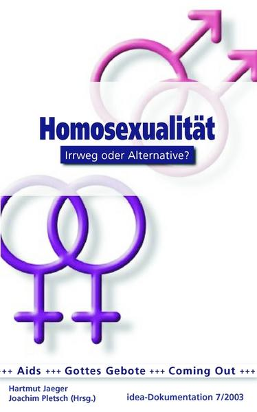 Homosexualität - Coverbild