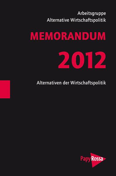 MEMORANDUM 2012 - Coverbild