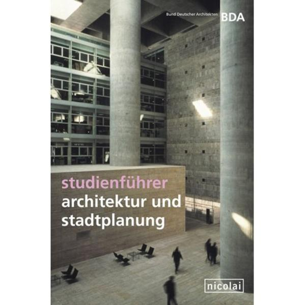 Download Studienführer Architektur und Stadtplanung Epub Kostenlos