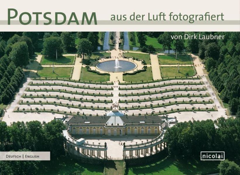 Potsdam aus der Luft fotografiert - Coverbild