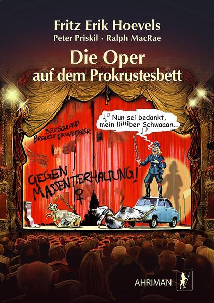 Die Oper auf dem Prokrustesbett - Coverbild