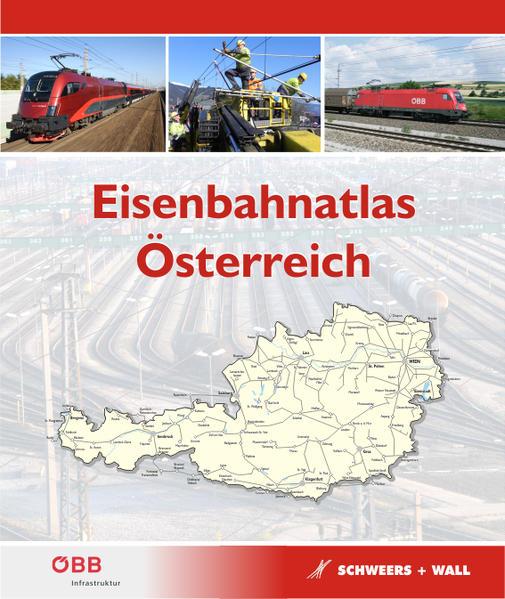 Eisenbahnatlas Österreich - Coverbild