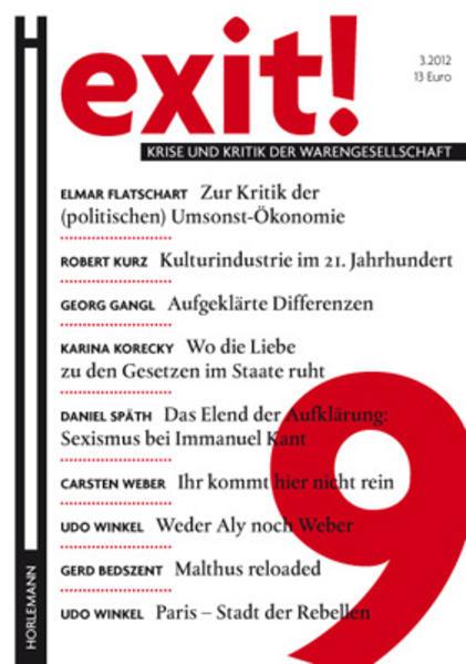 EXIT! 9 - Coverbild