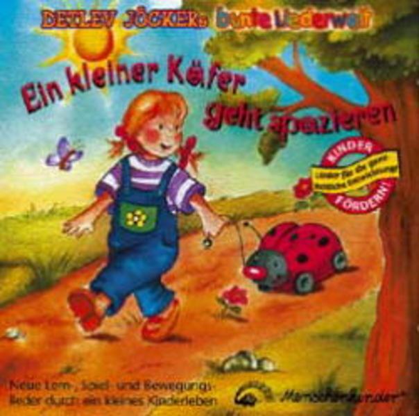 Ein kleiner Käfer geht spazieren - Coverbild