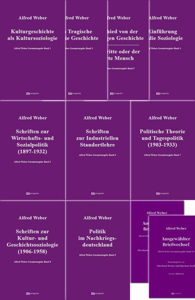 Alfred Weber Gesamtausgabe / Alfred Weber Gesamtausgabe - Coverbild