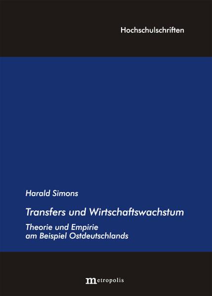 Transfers und Wirtschaftswachstum - Coverbild