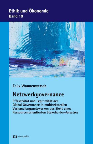 Netzwerkgovernance - Coverbild