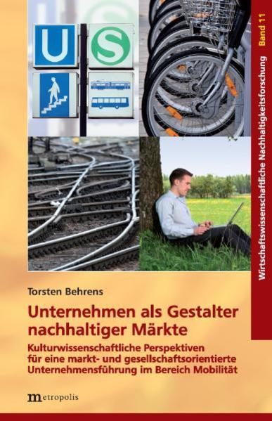 Unternehmen als Gestalter nachhaltiger Märkte - Coverbild