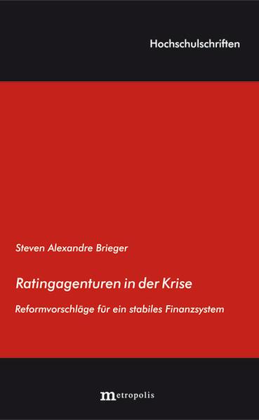 Ratingagenturen in der Krise - Coverbild