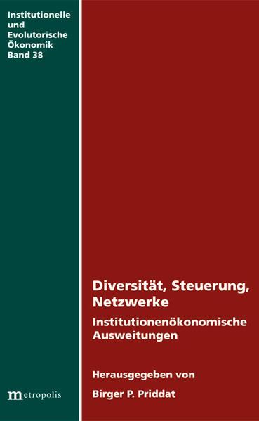 Diversität, Steuerung, Netzwerke - Coverbild