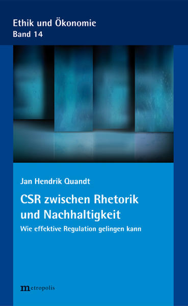 CSR zwischen Rhetorik und Nachhaltigkeit - Coverbild