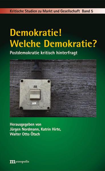 Demokratie! Welche Demokratie? - Coverbild