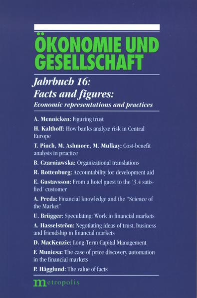 Ökonomie und Gesellschaft / Facts and figures - Coverbild