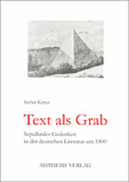 Text als Grab - Coverbild