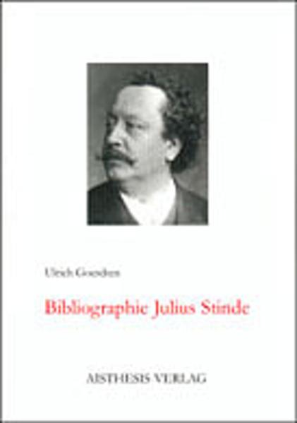 Bibliographie Julius Stinde - Coverbild