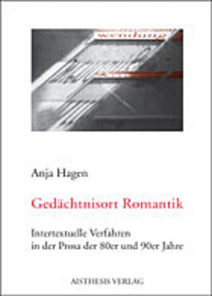 Gedächtnisort Romantik - Coverbild