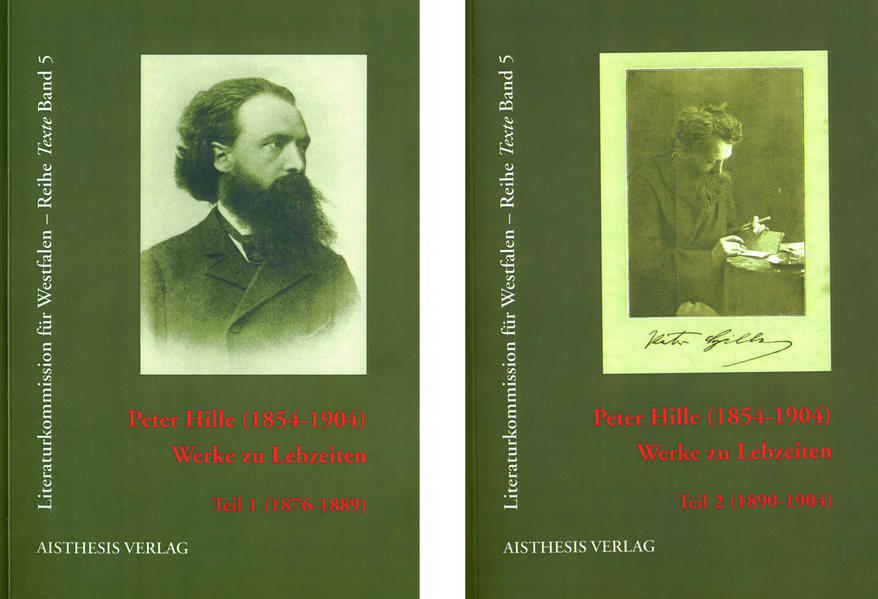 Peter Hille (1854-1904) - Werke zu Lebzeiten - Coverbild