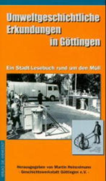 Umweltgeschichtliche Erkundungen in Göttingen - Coverbild