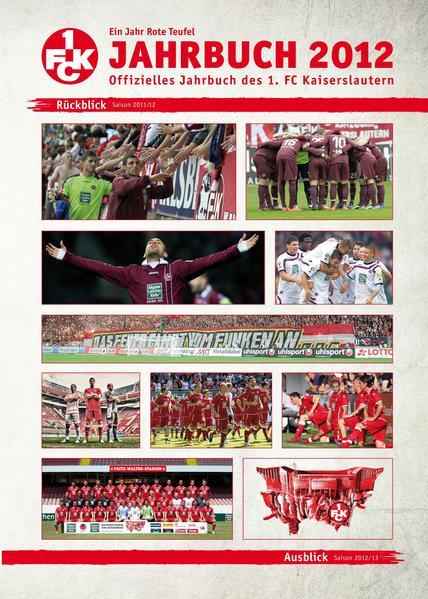 Ein Jahr Rote Teufel: Jahrbuch 2012 - Coverbild