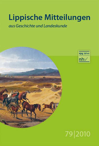 Lippische Mitteilungen aus Geschichte und Landeskunde / Lippische Mitteilungen aus Geschichte und Landeskunde - Coverbild